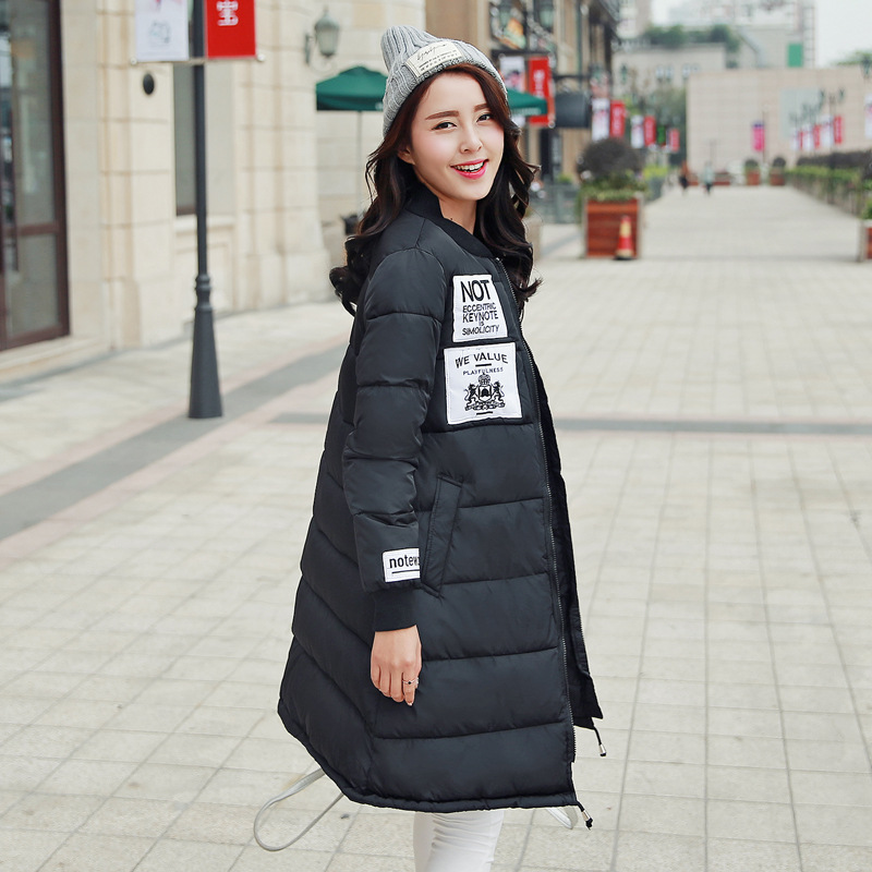 Women Padded Coat Parka Women Jackets 2016 Coat Manteau Designer Womens Winter Coats Ladies Winter Coat