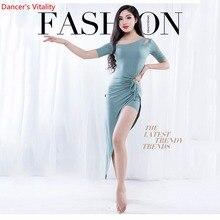 ขายส่งBelly Danceกระโปรงผู้หญิงฤดูร้อนOne Piece Orientalเครื่องแต่งกายเต้นรำแขนสั้นเซ็กซี่เสื้อผ้า