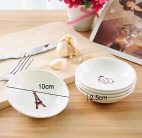 8pcs wholesale small animal grocery seasoning sauce dish ceramic dishware creative home dishes u0026 plates from home u0026 garden on