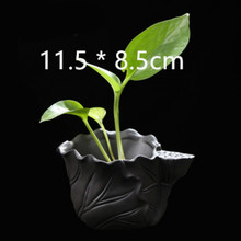 3D Lotus Craft Pot Making Silicone Mould Concrete Planter Mold Desktop Decorating Vase
