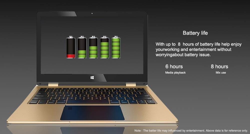 touch screen Netbook computer battery