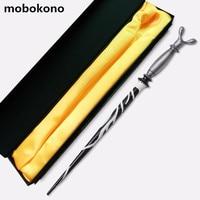 Mobokono教授ホレスe. f. slughorn魔法の杖ハリーポッターコレクションウィザードスティックスリザリン校長コスプレおもちゃギフ