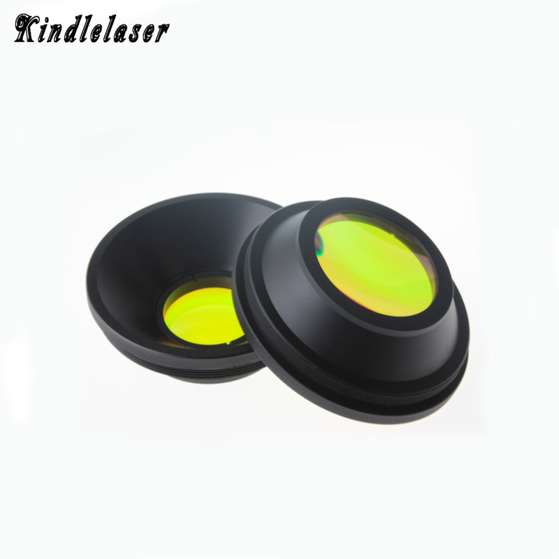 CO2 F-theta Scan Lens Field Lens 10.6um 10600nm 50x50 - 600x600 FL63-650mm for CO2 Laser Marking Machine Parts f theta scan lens mount m85x1 field lens 62 110 150 175 207 228 f100 330mm for fiber laser marking machine