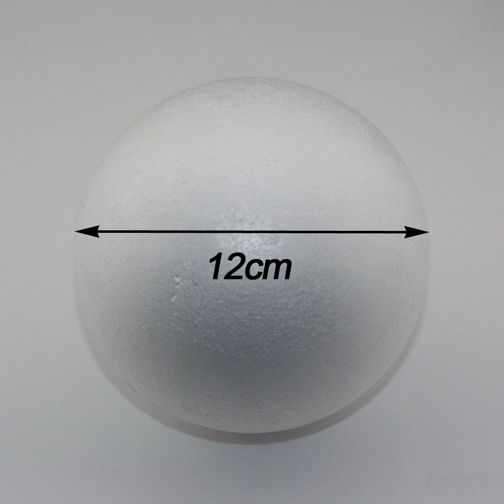 CCINEE wholesale 12cm natural white styrofoam round balls