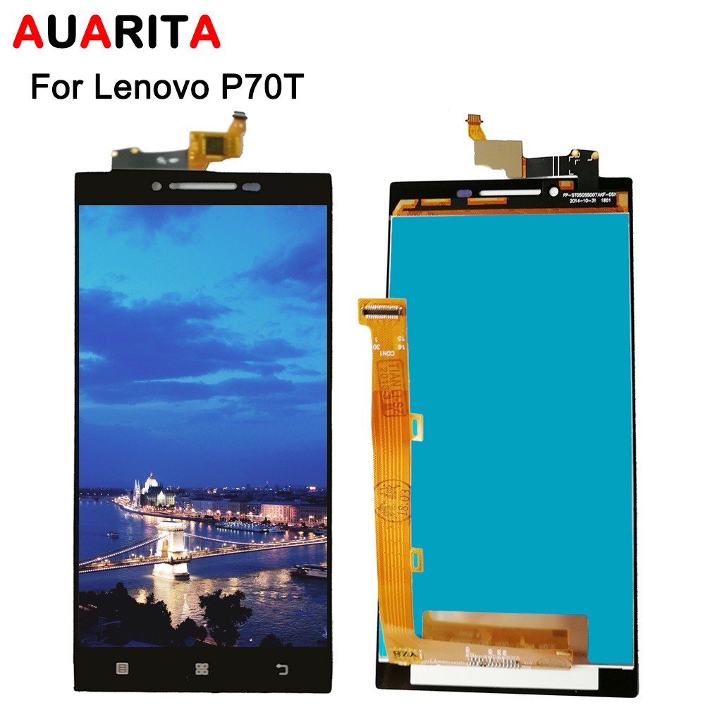 For Lenovo Vibe P70 P70T P70-T LCD Display + Touch Screen Replacement Digitizer Assembly For Lenovo P 70 T replace lcds screen