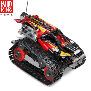 MOULD KING 13032 13036 RC Car Racing APP Remote Control Crawler Car Building Blocks Legoing Technic 42095 RC Toys Gift Bricks