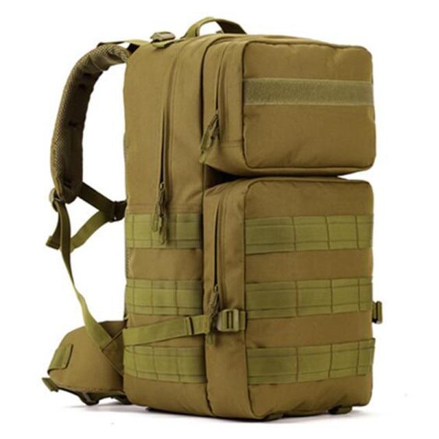 Рюкзак на плечах мужской рюкзак Сумка военный непромокаемый рюкзак мужской 50 л супер ультра-большая дорожная сумка высокого качества камуфляж