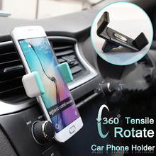 360° Rotating Car Phone Holder For Mobile Mini Outlet car Iphone X XR 8 7 Huawei Xiaomi phone stand holder