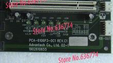 Industrial control board PCA-6106p3-0c1 REV.C1 support AT/ATX motherboard