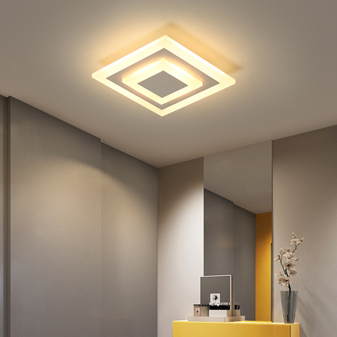 modernas luzes de teto para corredor corredor varanda teto lampadas 7w quarto iluminacao de teto