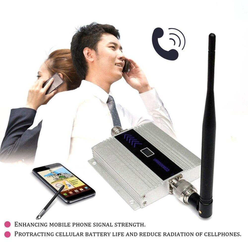 Мобильный телефон усилитель сигнала усилитель двойной антенны Портативный ЖК-дисплей высокого зерна повторитель сигнала комплект GSM 900 мГц...