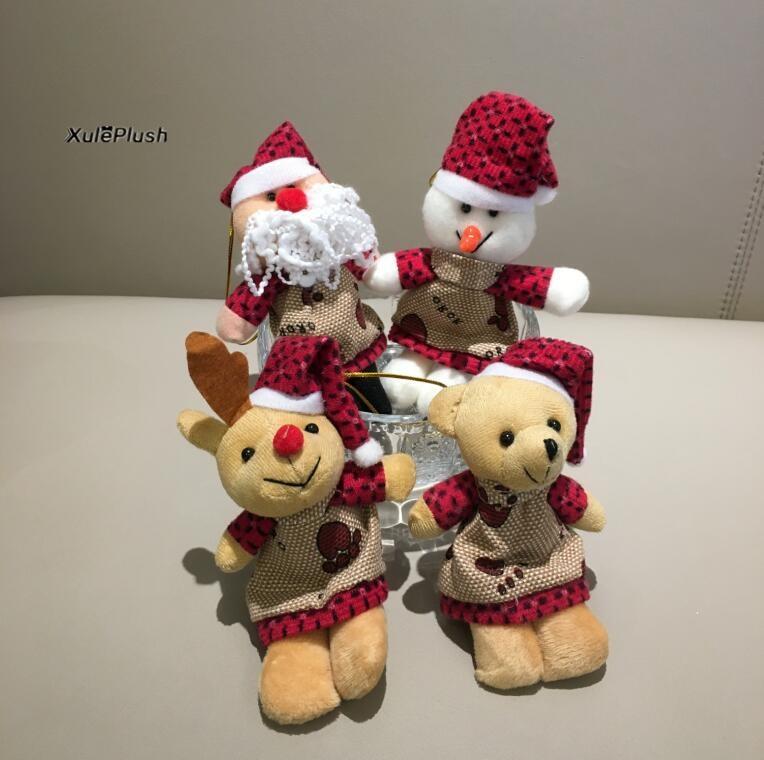 500pcs wholesale plush toys , Kawaii Christmas Plush ...