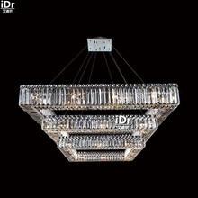 gold Chandeliers elegant Continental hotel lobby chandelier lamp headlights L89cm x W90cm x H30cm