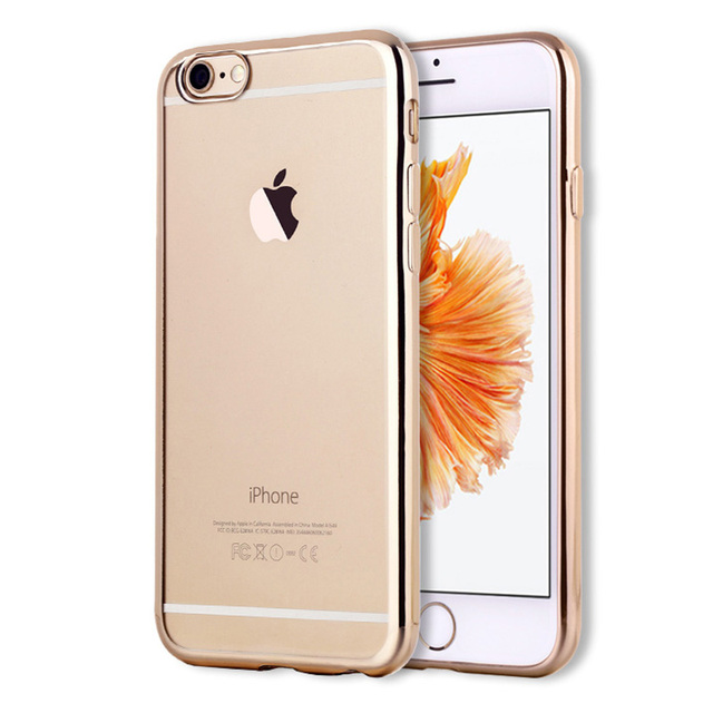 Slim Transparent Silicone Case For iPhone 6 6S Soft Crystal Clear TPU Cover Coque For iPhone 6 6S Back Cover