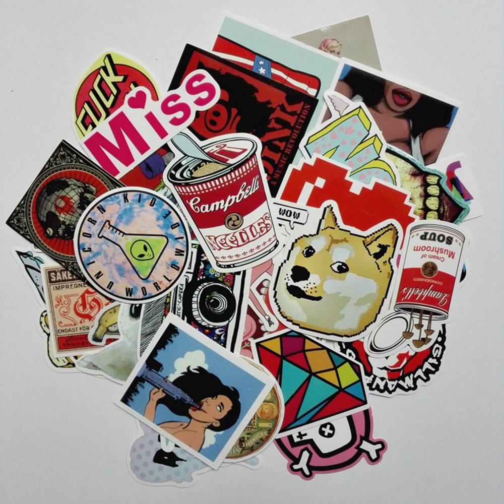 все цены на 50 Pcs Miss Love Funny Car Stickers Exterior Accessories on Motorcycle Phone Laptop Covers DIY Vinyl Decal Sticker Car Styling онлайн