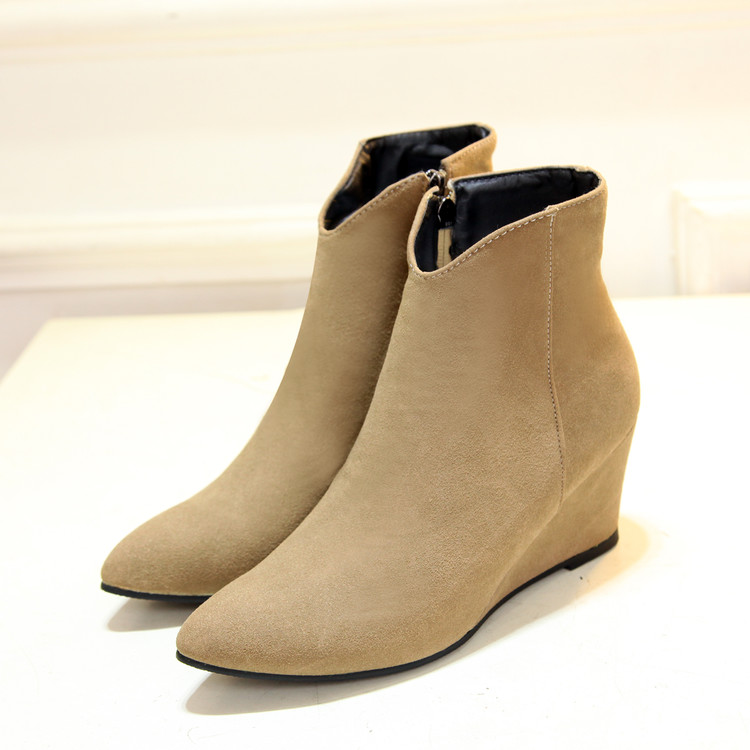 Online Get Cheap Wedge Heel Boot -Aliexpress.com  Alibaba Group
