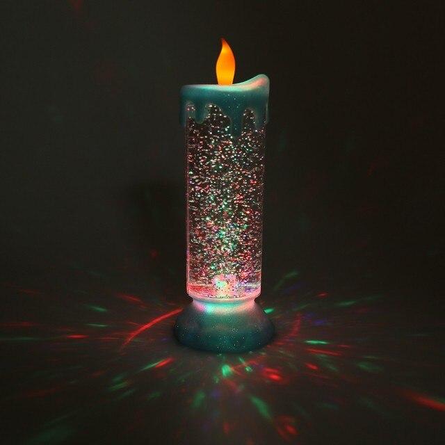 1 Unidades Discolor LED emisor de Luz Light-Up Juguetes Del Partido velas Divertido Juguete de La Novedad de Halloween Niños de Los Niños Creativos regalos
