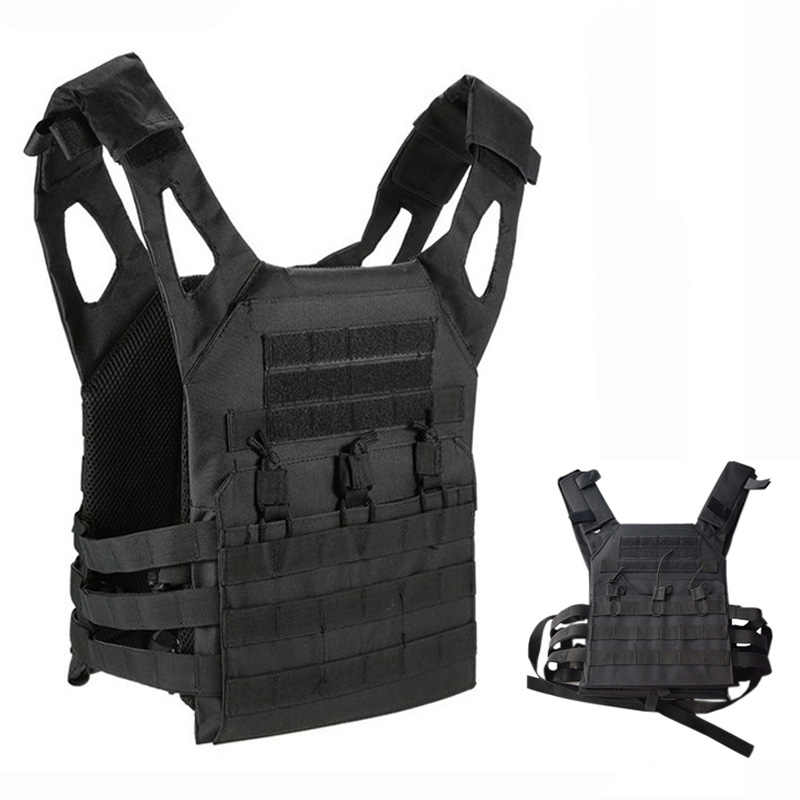 2c96becf25b87 1000D Hunting Tactical Vest Military JPC Molle Plate Carrier Magazine  Airsoft Paintball CS Outdoor Protective Lightweight