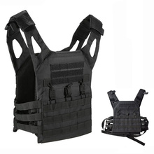 Tactical Hunting Vest Military Equipment Nylon JPC Molle Plate Carrier Body Armor Vest Army Airsoft Paintball CS Protective Vest цена 2017