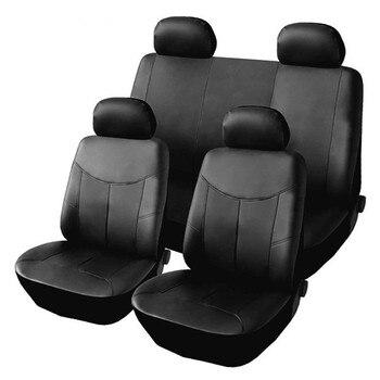 אוניברסלי מכוניות מושב כיסוי עור PU עבור רכב Fit עבור פורד פוקוס 2 פיג 'ו 206 קאיה ריו 3 VAZ 2114 לאדה
