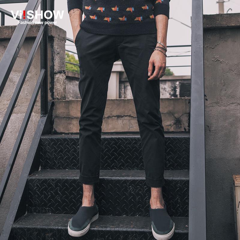 Viishow pantaloni cargo casual uomini di marca matita pantaloni - Abbigliamento da uomo