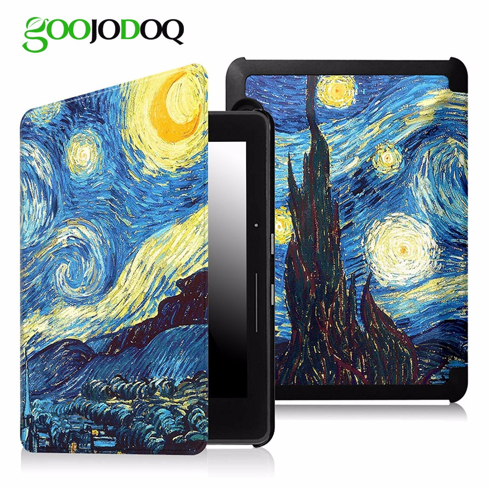 For Kindle Voyage Case, Lightest Protective PU Leather Smart Cover E-book Reader Auto Sleep/Wake for Amazon Kindle Case Cover
