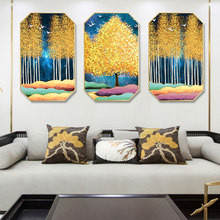 Nordic INS elk landscape modern simplicity painting home hotel hanging background wall restaurant decorative mural