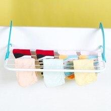 Outdoor Folding Rack For Socks Clothes Towel Dryer Hanger Shelf Drying Storage Radiator 2017 Metal Hook Large Clip Hot ButiHome