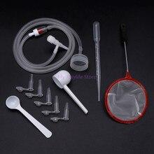 1 Набор рассол инкубатор для креветок DIY инкубационные инструменты аквариумная инкубаторная система колпачок клапан совок чистый шланг комплект профессиональный простой C42