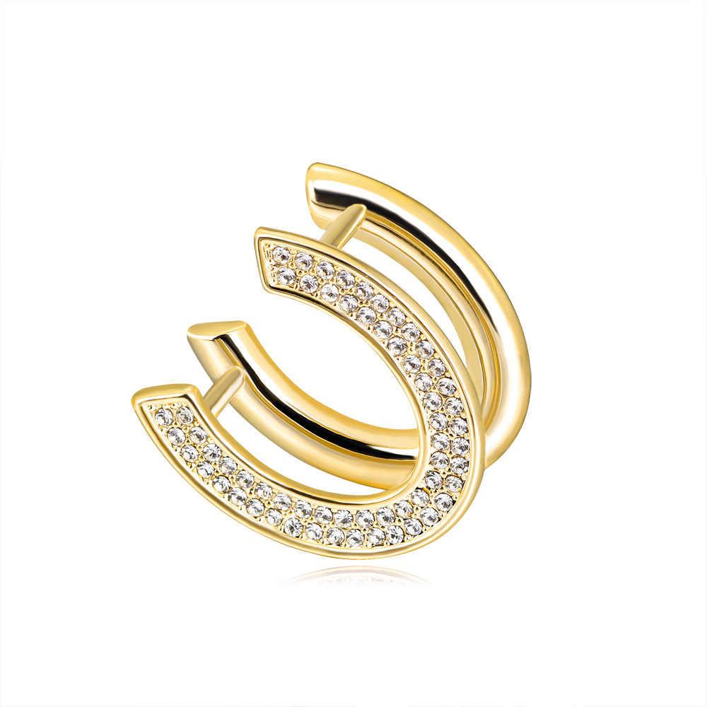 Merah Pohon Baru Desain U A Syal Cincin Fashion Logam Jilbab Pin untuk Syal Musim Panas Kualitas Tinggi Perhiasan DROP pengiriman