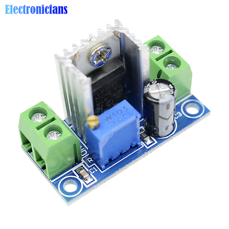 LM317 Durable MHz Adjustable Buck Step Down Voltage Power Supply Module 100