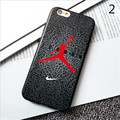 Fashion Jordan Sport Basketball Player Case TPU Soft Silicone For Iphone 6 6S Plus 4.7 5.5 Cover NBA