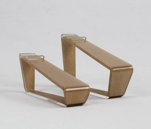 Z-style wooden acrylic shoes holder display rack desktop stand 10pcs lot a4 acrylic magnetic desktop display stand rack acrylic tabel label sign display holder