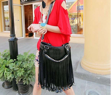 New Fashion Women Bag Celebrity Tassel Fringe Shoulder Messenger Handbag CrossBody High Quality Hot