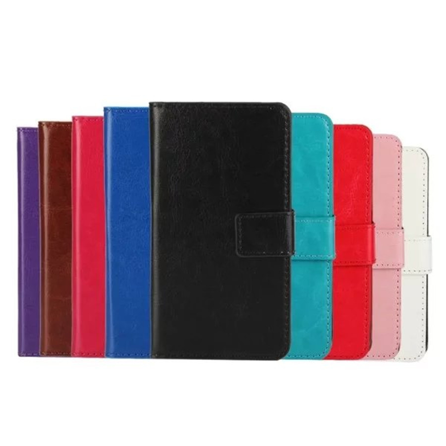 Luxury PU Leather Mobile Phone Case For iphone 7 Flip Stand Wallet With Card Slo