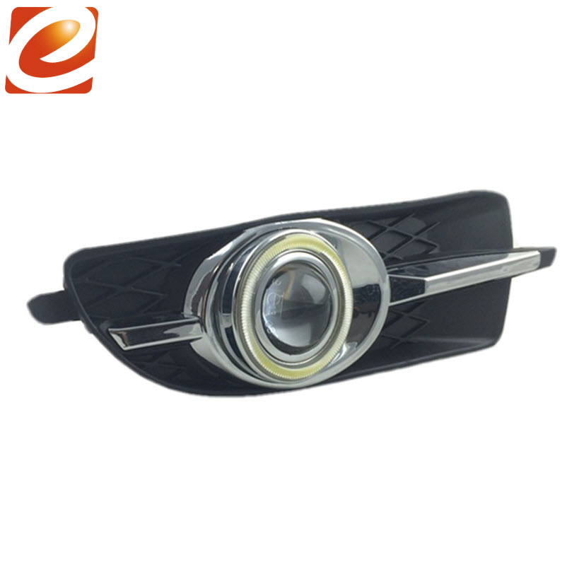 eeMrke COB Angel Eyes DRL For Buick laCrosse 2012 H11 30W LED Bulbs Fog Lights Daytime Running Lights Tagfahrlicht Kits eemrke cob angel eyes drl for lexus ct220h ct 200h f sport 30w bulbs led fog lights daytime running lights tagfahrlicht kits