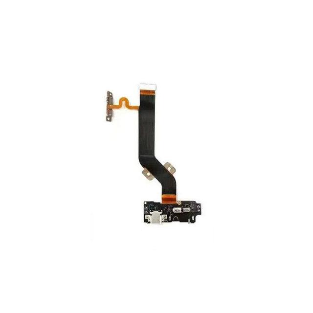 Letv X800 Módulo USB Tablero de Carga Enchufe + Vibrador Motor Flex Cable Dock conector Para Letv 1 Pro X800 5.5 Pulgadas Octa Core Teléfono Móvil