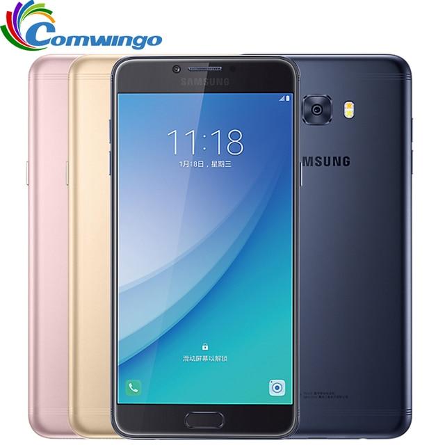 "Original Samsung Galaxy C7 Pro C7010 (2017) RAM 4G ROM 64G Octa Core Dual Sim 5.7"" 3300mAh 16MP 4G LTE Moblie Phone c7pro"