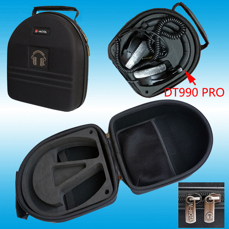 Headphone carry case for beyerdynamic DT770 DT860 DT880 DT990 DT440 DT797 DT531