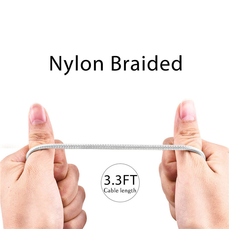 Braided Style Mobile Phone Data Cable Charging Line Data Transmission Cable USB TYPE C Data Cable