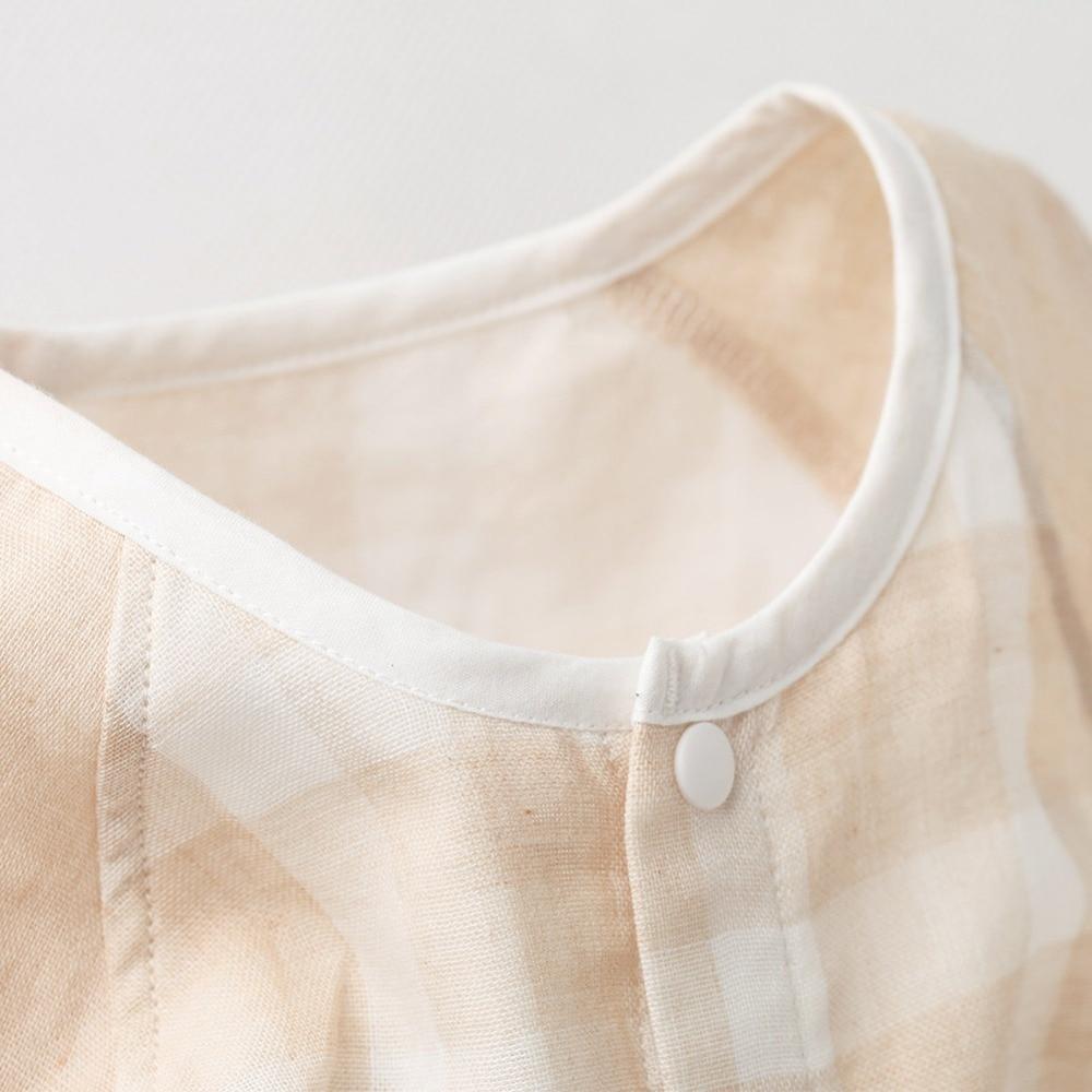 COBROO Unisex-Baby Piżamy Piżamy z zapięciem w kratę Wzór w - Odzież dla niemowląt - Zdjęcie 4