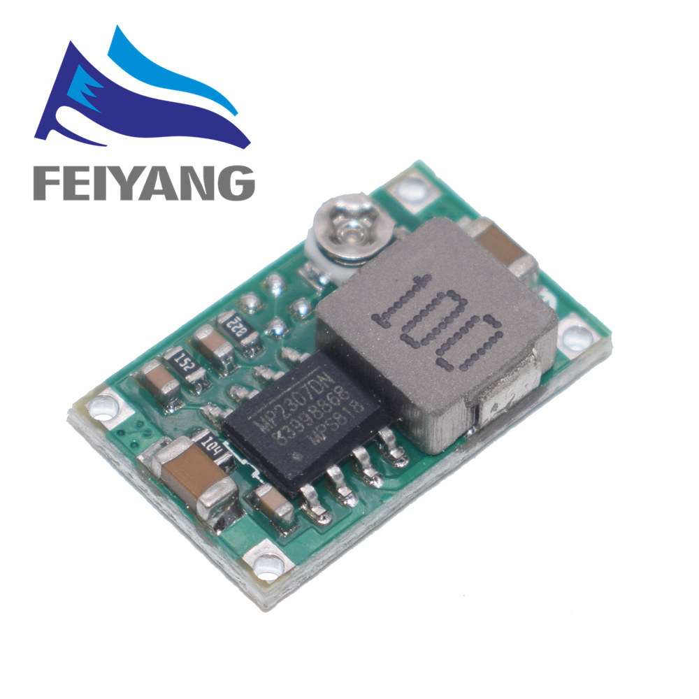 Mini360 DC-DC Buck Converter Step Down Module 4.75V-23V To 1V-17V 17x11x3.8mm SG125-SZ+