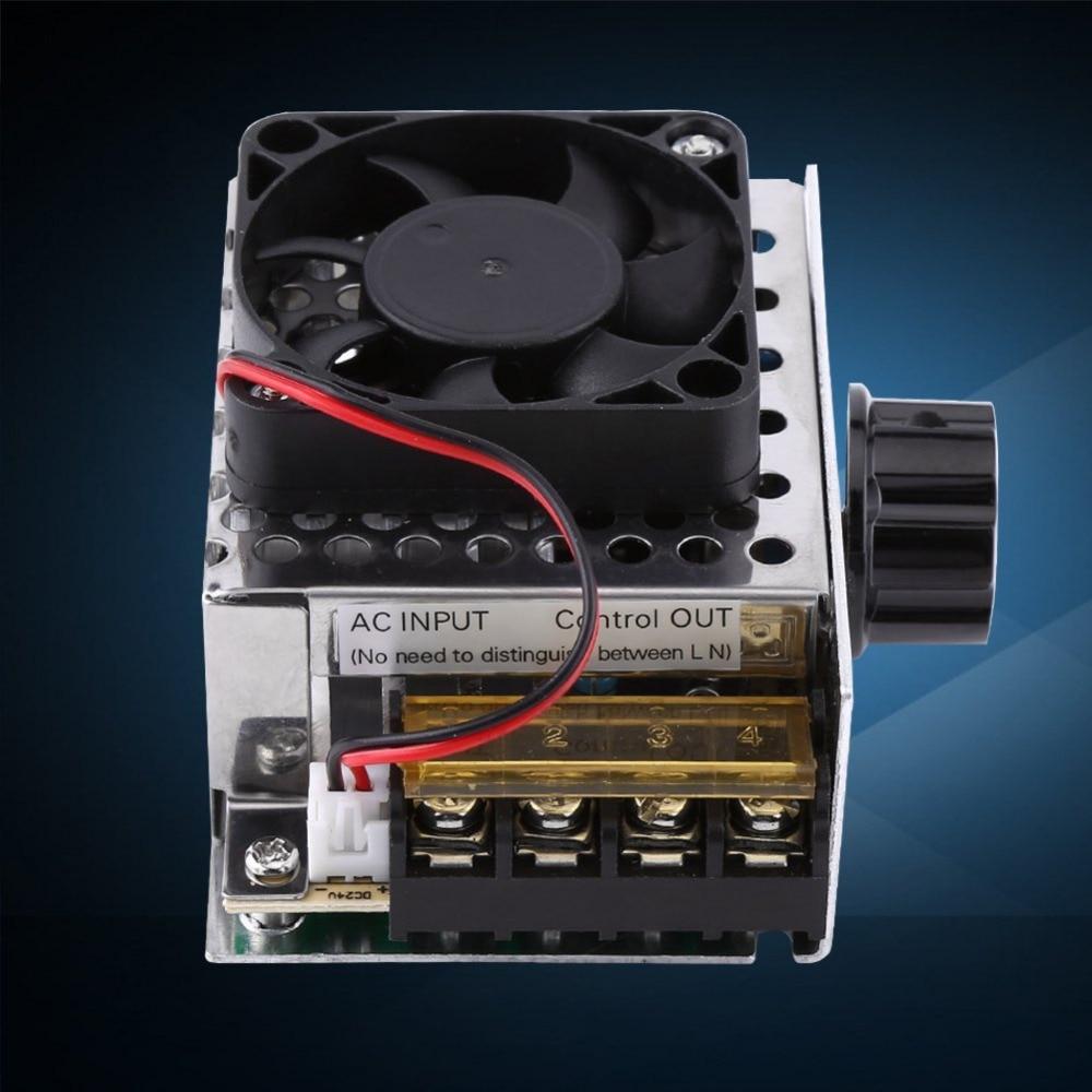 Widely Used Multi-use Adjustable Voltage Regulator High Performance Durable Safe 0-220V Large Power 4000W 20A Controller