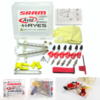 Bicycle Hydraulic Disc Brake Bleed Kit Tool For Formula Sram Avid Juicy Hayes Hope Bengal MTB Bike Repair Tools