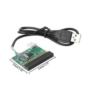 "Image 4 - 1.44MB 3.5 ""USB kablosu adaptörü 34Pin disket sürücü konektörü U Disk disket PCB kartı"