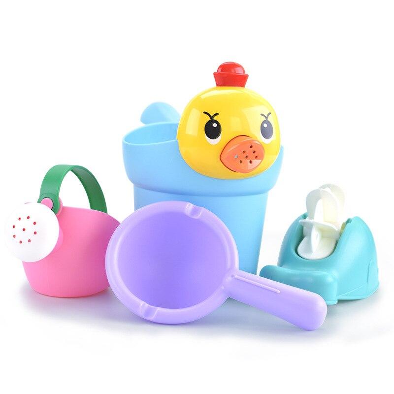 Пляжный песок, игрушки для детей, Песочная лопата, мягкая пластиковая вода, забавный бассейн, детские игрушки для детей, ванная комната, детские игрушки для душа - Цвет: 4 Pics