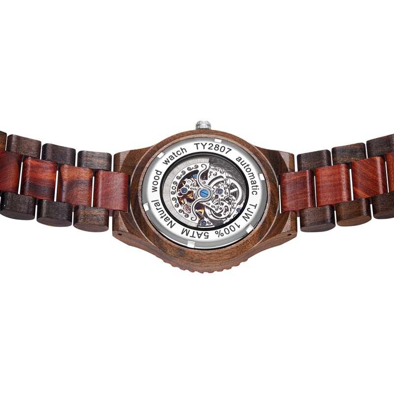 Wood Watch Quartz Watches Wooden Wooden Watch Men23- (3)