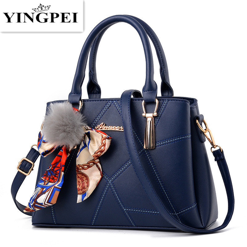 YINGPEI Women leather handbags famous brands women Handbag purse messenger bags shoulder bag handbags pouch High Quality цена 2017