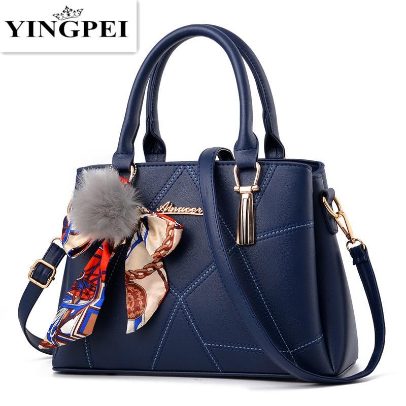 YINGPEI Women leather handbags famous brands women Handbag purse messenger bags shoulder bag handbags pouch High Quality