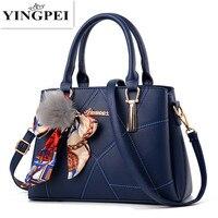 YINGPEI borse di cuoio Delle Donne marche famose donne della borsa del messaggero borse borse del sacchetto di spalla del sacchetto di Alta Qualità
